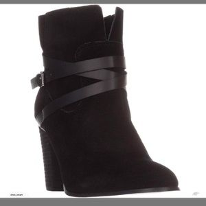 Carlos Santana Ankle Boots, Black Size 8 New w Box